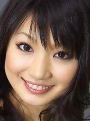 Cute Akane Ozora solo masturbation