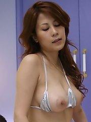 Yuki Aida deeply fucked n creampie