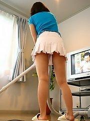 Suzune Toujou hot Asian model with a nice ass