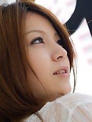 Rina Koizumi shy and lovely Asian model