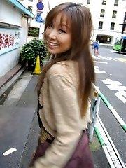Yua Aida sexy Asian model is cute too