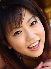 Lovely Japanese teen poses in her bikini
