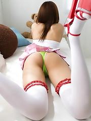 Kotone Aisaki Posing Sexy Ass