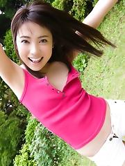 Haruka Itoh Showing Big Boobs
