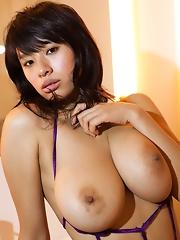 Hana Haruna Baring Tits