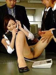 Hot Iroha Kawashima gets rammed