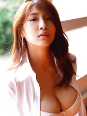 Asana Mamoru has such big knockers and such sexy tummy