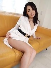 Hot Asian Yuna Yamami gets doggystyle and cum